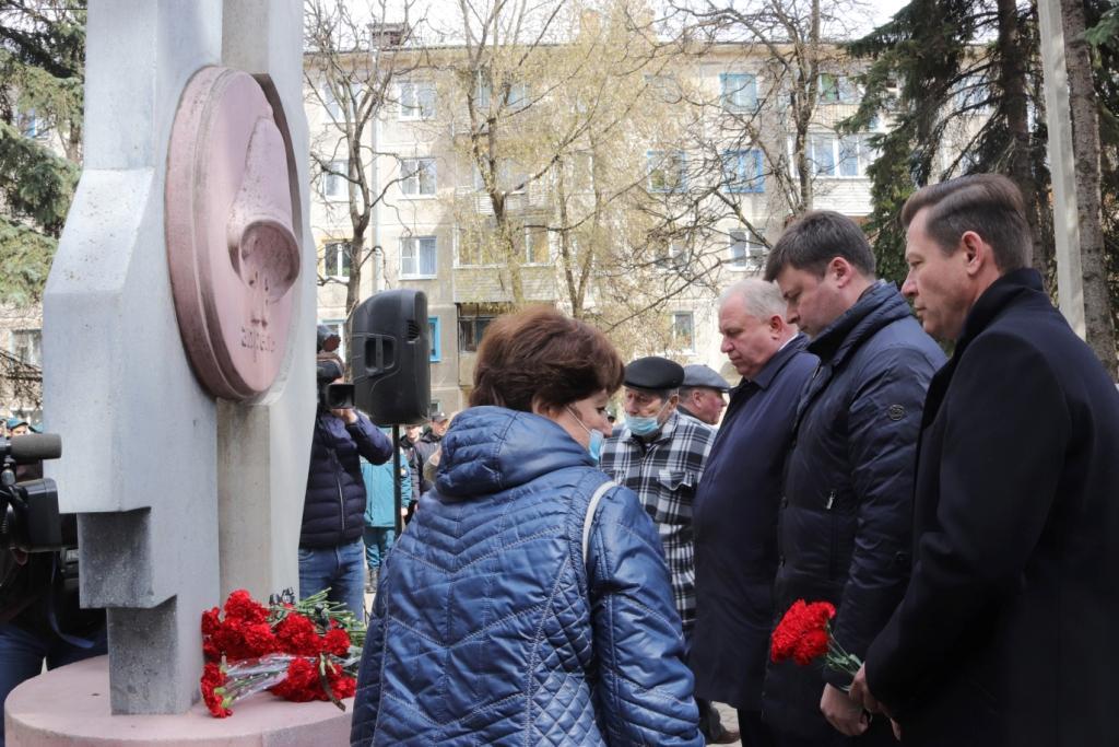 В Калуге почтили память ликвидаторов последствий чернобыльской катастрофы