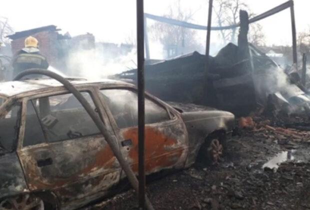 пожар Козельск