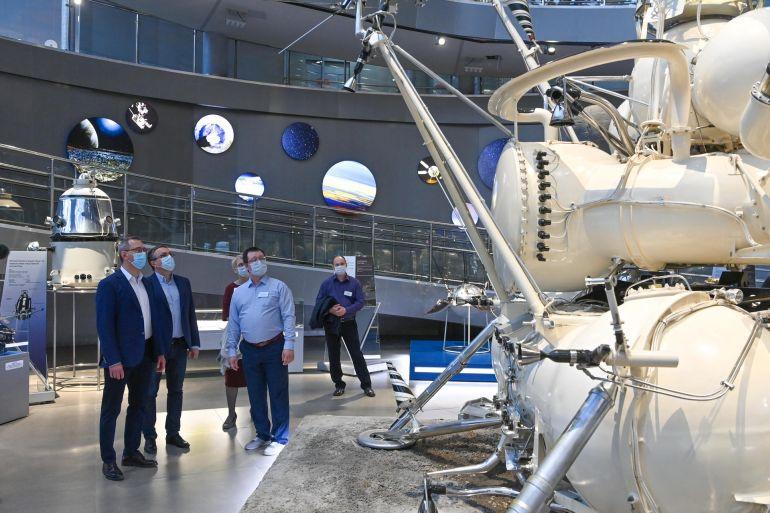 Обновлённый музей космонавтики в Калуге 17 апреля посетили 6 тысяч человек