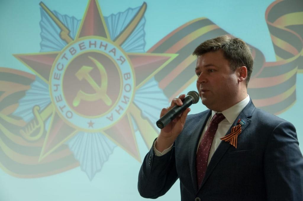 В Калуге прошел торжественный прием в честь ветеранов