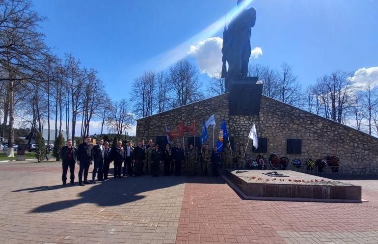 В Калужской области прошел автопробег по местам боевой славы