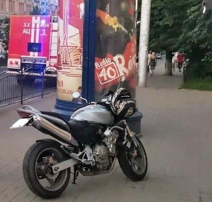 В Калуге 17-летний пешеход угодил под колёса мотоцикла «Хонда»