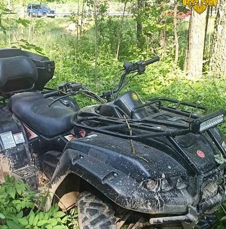 В реанимацию Обнинска попала женщина-водитель опрокинувшегося квадроцикла