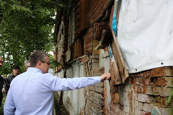 Градоначальник Калуги предложил восстановить дом Ципулина за счёт пожертвований жителей