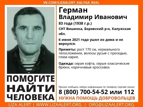 В Калужской области 6 июня пропали 16-летняя девочка и два пенсионера