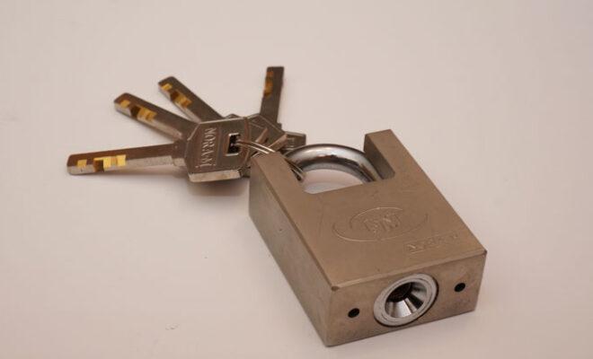 ключи замок