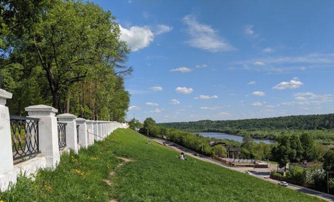 парк культуры Калуга лето