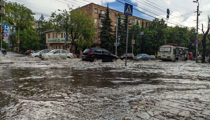 затопило Калуга