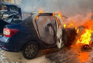 горит авто