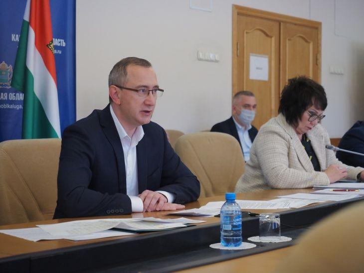Зампред Правительства РФ похвалил строительный комплекс Калужской области