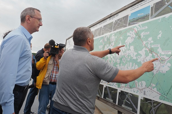 Северный обход Калуги строится с опережением графика