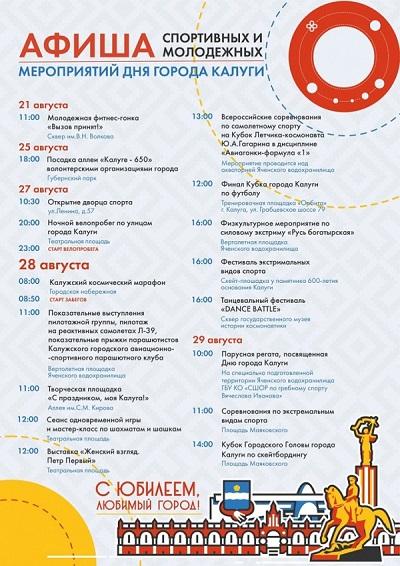 Открытие Дворца спорта в Калуге намечено на 27 августа