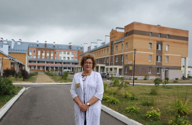 Строящийся в Калуге ковид-госпиталь сможет принять до 430 пациентов