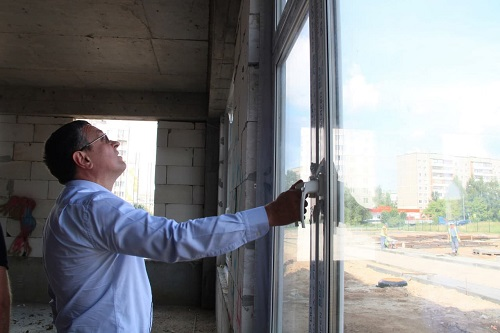 На Правобережье Калуги к концу года построят детсад на 340 мест