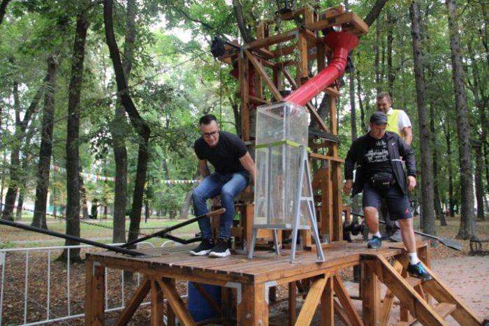 В городском парке Калуги прошел фестиваль интерактивных развлечений