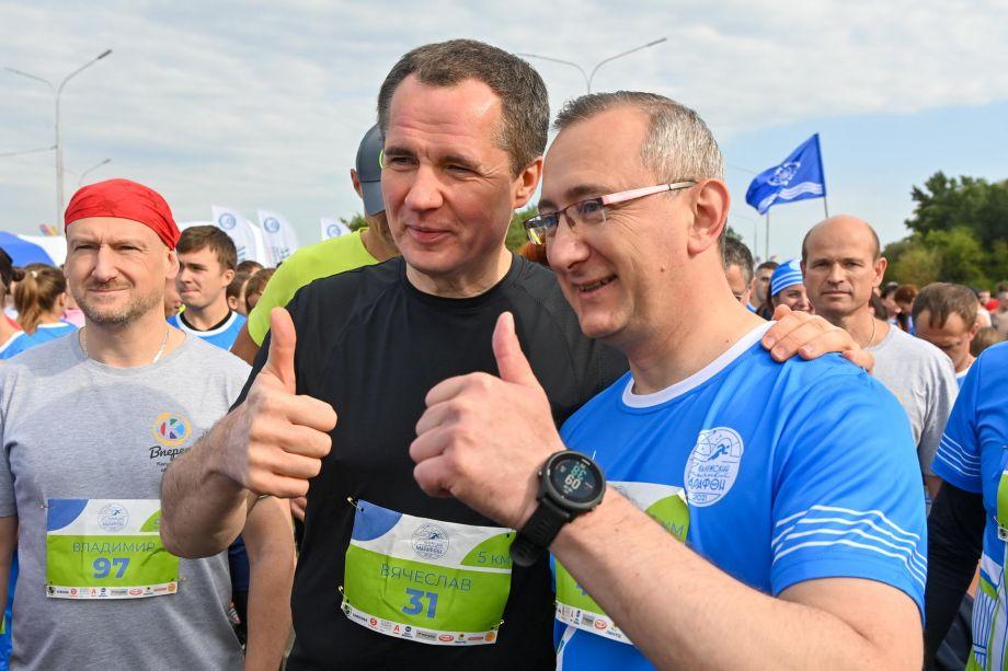 В Калуге три тысячи человек пробежали космический марафон