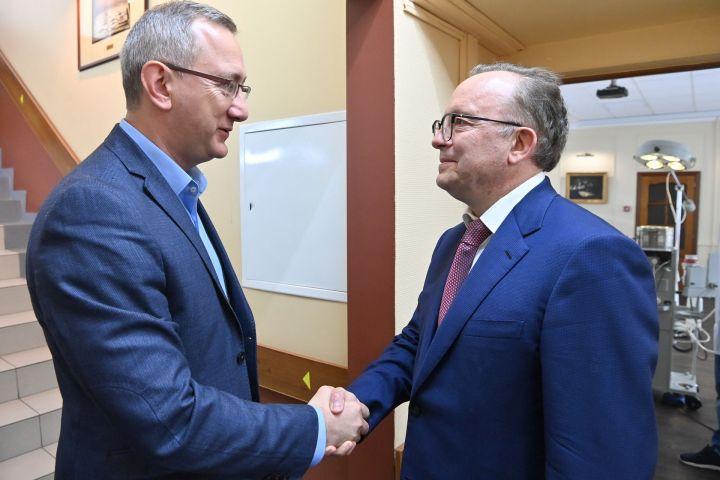 Владислав Шапша призвал студентов-медиков подумать о работе в Калужской области