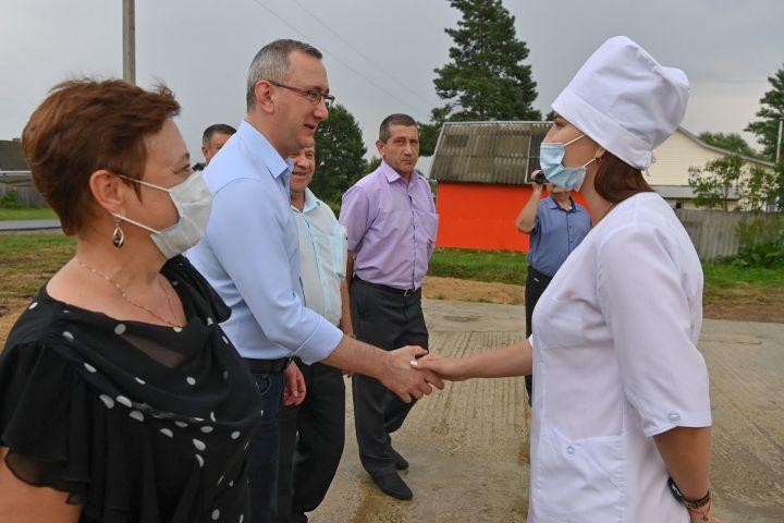 Губернатор Калужской области совершил поездку по Хвастовичскомурайону