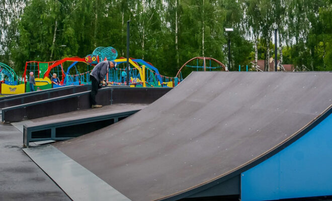скейт-парк Сухиничи