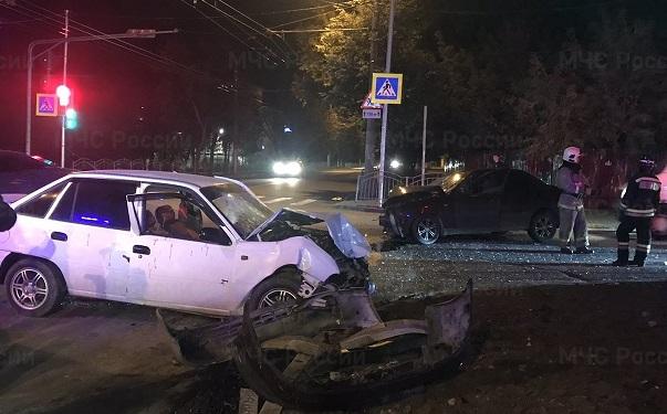 Два человека пострадали в ДТП возле калужского управления ГИБДД