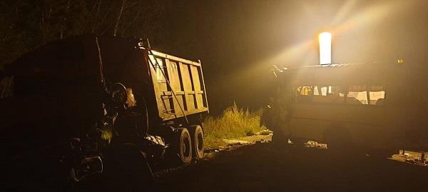 Три человека погибли при столкновении автобуса и грузовика в Калужской области