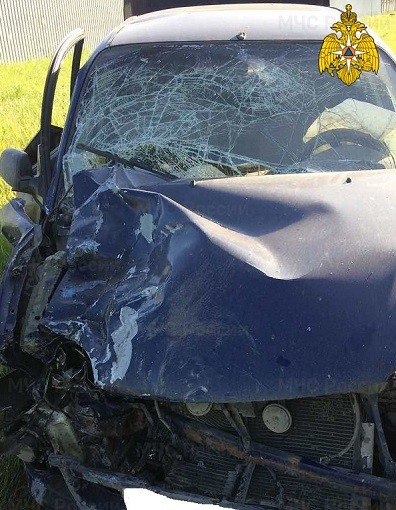 В Калуге после столкновения двух «Тойот» трое мужчин попали в больницу