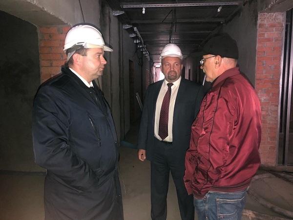 Новый корпус детской областной больницы в Калуге возведут к концу года