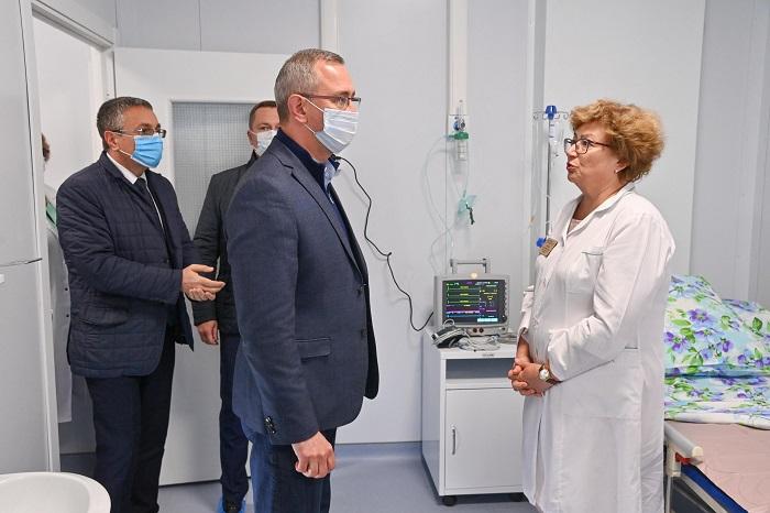 Ковид-госпиталь в Калуге построят к концу сентября