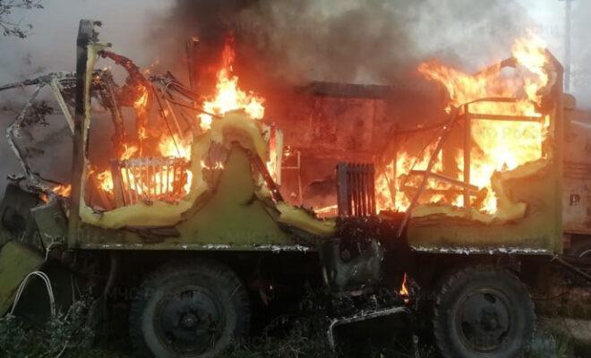 пожар Белоусово