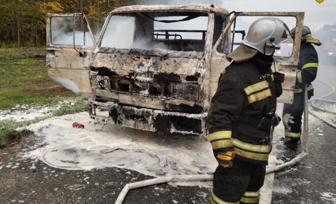 пожар Жуковский