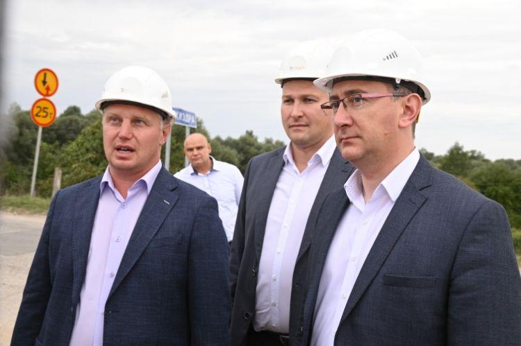 Владислав Шапша совершил рабочую поездку по Козельскому району