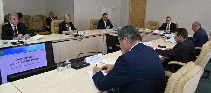 В Калужской области председателем Совета ректоров вузов избрали Владимира Шевченко