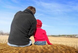 Отец с сыном