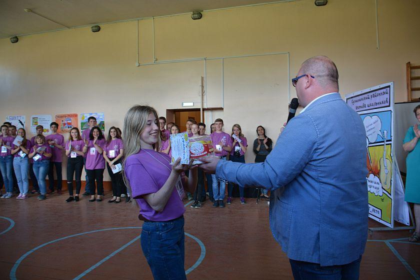 В Сухиничском районе школьники PRO-явили активность
