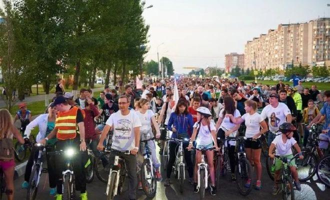 Велопсипедисты Обнинск