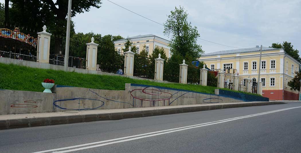 НЛО граффити