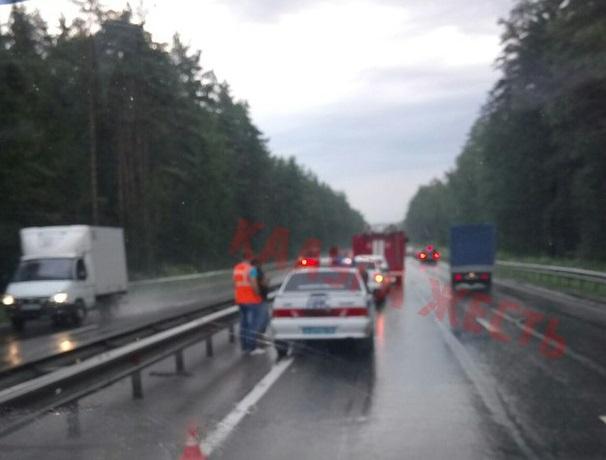 Две аварии с участием грузовиков. Есть жертвы