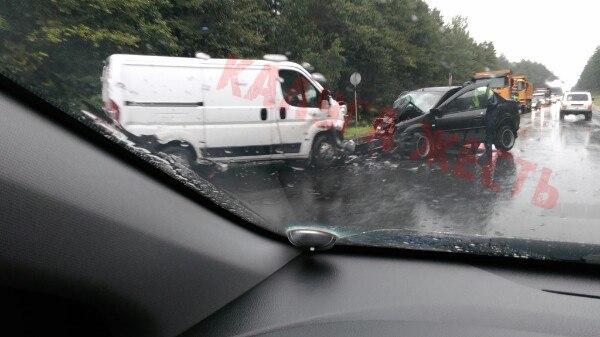 Авария под пос. Каравай