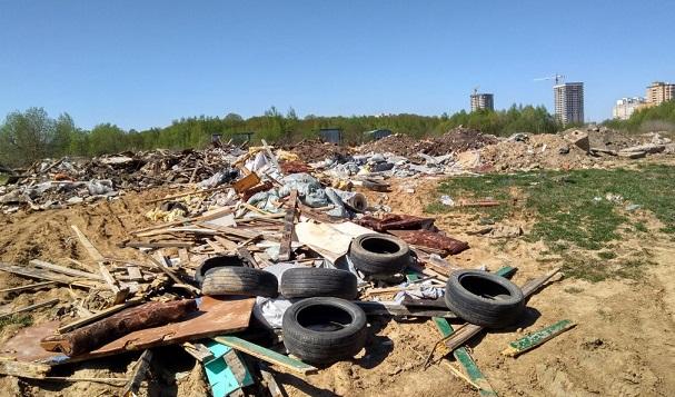 Посигналам ОНФ вБалашихе ликвидируют стихийные свалки