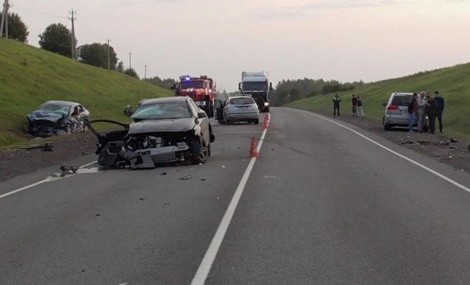 авария на Киевской трассе
