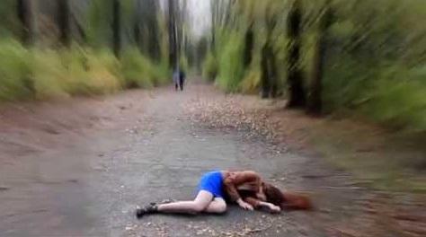 девушка без сознания