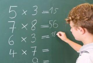 математика ученик