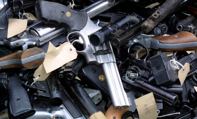 У граждан Калужской области наруках большое количество оружия