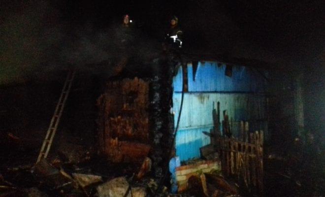 Под Калугой мужчина сгорел в своем доме