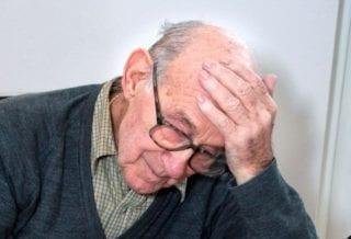 пенсионер огорчен