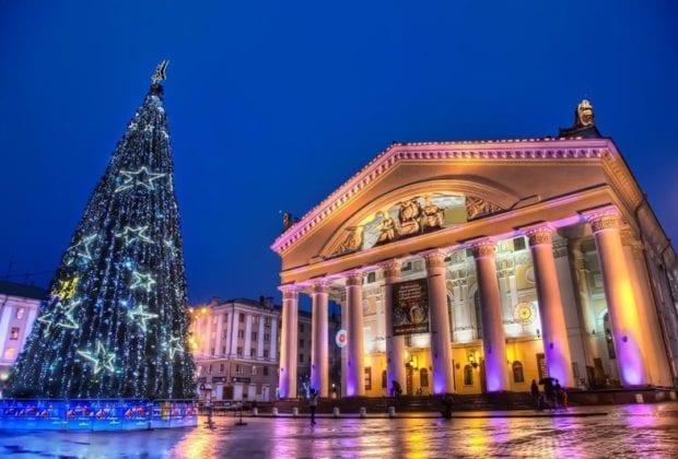 """Афиша """"Новый год 2018 в Калуге"""""""
