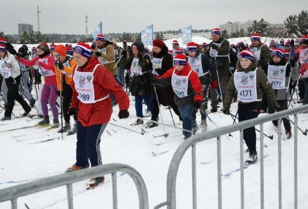 калужане на лыжах