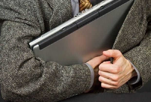украл ноутбук