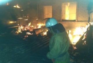 сгорел дом