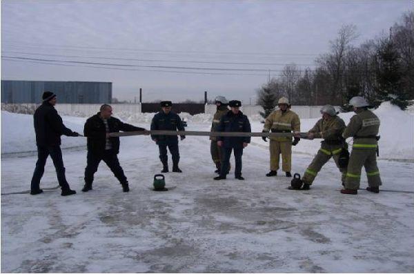 пожарный флешмоб